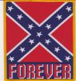 confederate flag Aufnäher