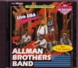 CD ALLMAN BROTHERS BAND  - Live USA – 1973, 1979 & 1980