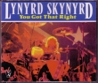 LYNYRD SKYNYRD - You Got That Right – LIVE  Kansas 1991 (2 CDs)