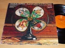 LP CHARLIE DANIELS BAND - Te John, Grease & Wolfman