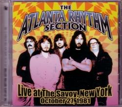 CD ATLANTA RHYTHM SECTION - Live At The Savoy, NY 1981