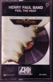 HENRY PAUL BAND (OUTLAWS) - Feel The Heat / cassette