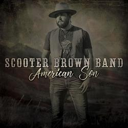 CD SCOOTER BROWN BAND - American Son (with Charlie Daniels)