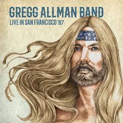 CD GREGG ALLMAN BAND - Live in San Francisco 1987