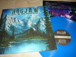 LP HOGJAW - Rise To The Mountains (BLUE VINYL)