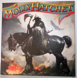 MOLLY HATCHET gerahmtes Bild First Album Cover