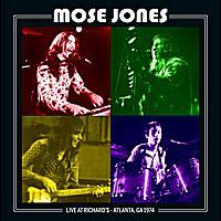 CD MOSE JONES - Live Atlanta 1974
