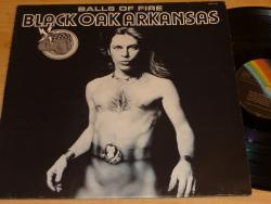 LP BLACK OAK ARKANSAS - Balls Of Fire