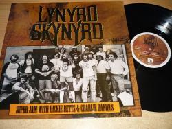 LP LYNYRD SKYNYRD - Super Jam with Dickie Betts & Charlie Daniels