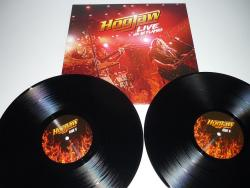 2LPs HOGJAW - LIVE Up In Flames