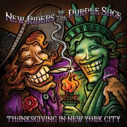 2 CDs NEW RIDERS OF THE PURPLE SAGE - Thanksgiving In New York City
