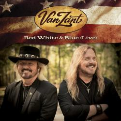 CD VAN ZANT - Red White & Blue (Live)