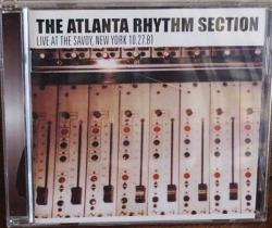 CD ATLANTA RHYTHM SECTION - Live At The Savoy, NY 1981