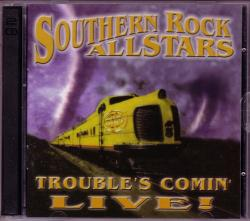 CD SOUTHERN ROCK ALLSTARS - Trouble´s Comin´LIVE! (2CDs)